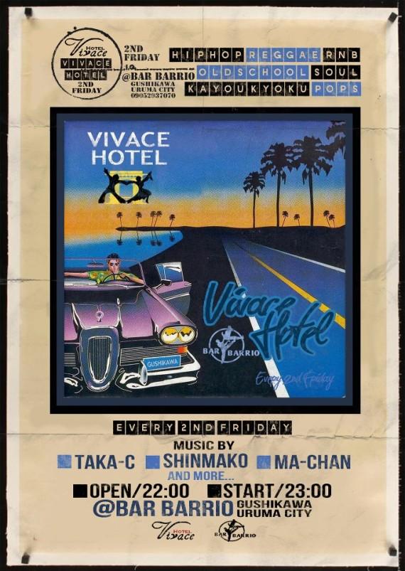 ▼「VIVACE HOTEL@BARRIO」